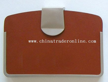Leather Name Card