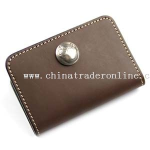 Leather Pocket Card Holder