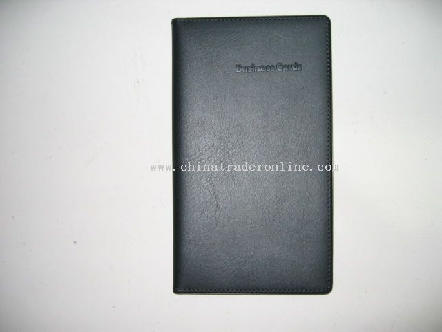 PVC card holder which is capable of holding 80 cards