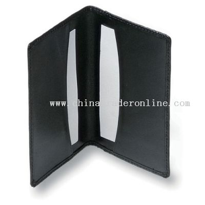 Business Card Holder manufactured inPVC/PU/Leather.