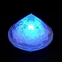 Flash diamond candle