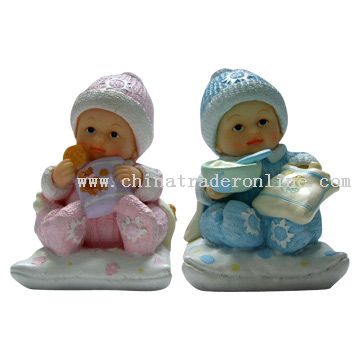 PolyResin Mini Baby Sculptures