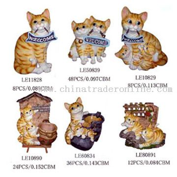 Polyresin Cats
