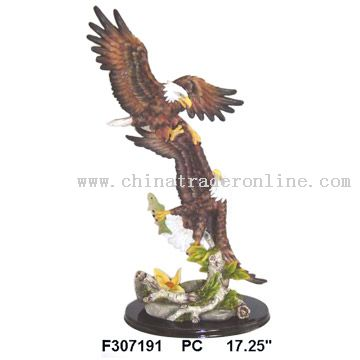 Polyresin Eagle Statue
