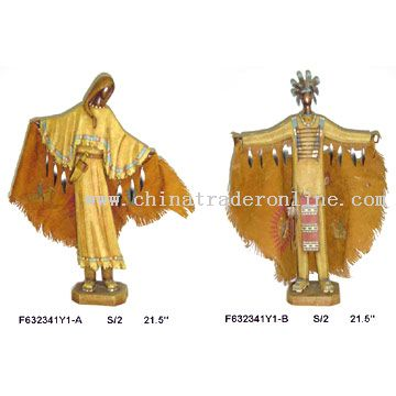 Polyresin Indian Figurine Decorations