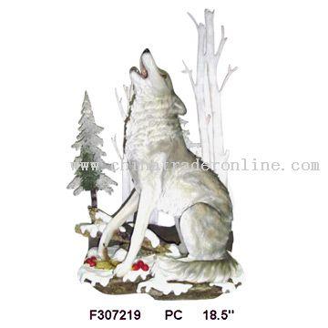 Polyresin Wolf