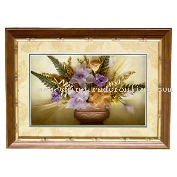 Flower Decorative Plaque