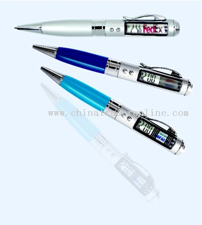 Advertising Pen Clock