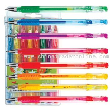 8 Or 10 Colors Fruit Fragrance Fluorescent Gel Pens