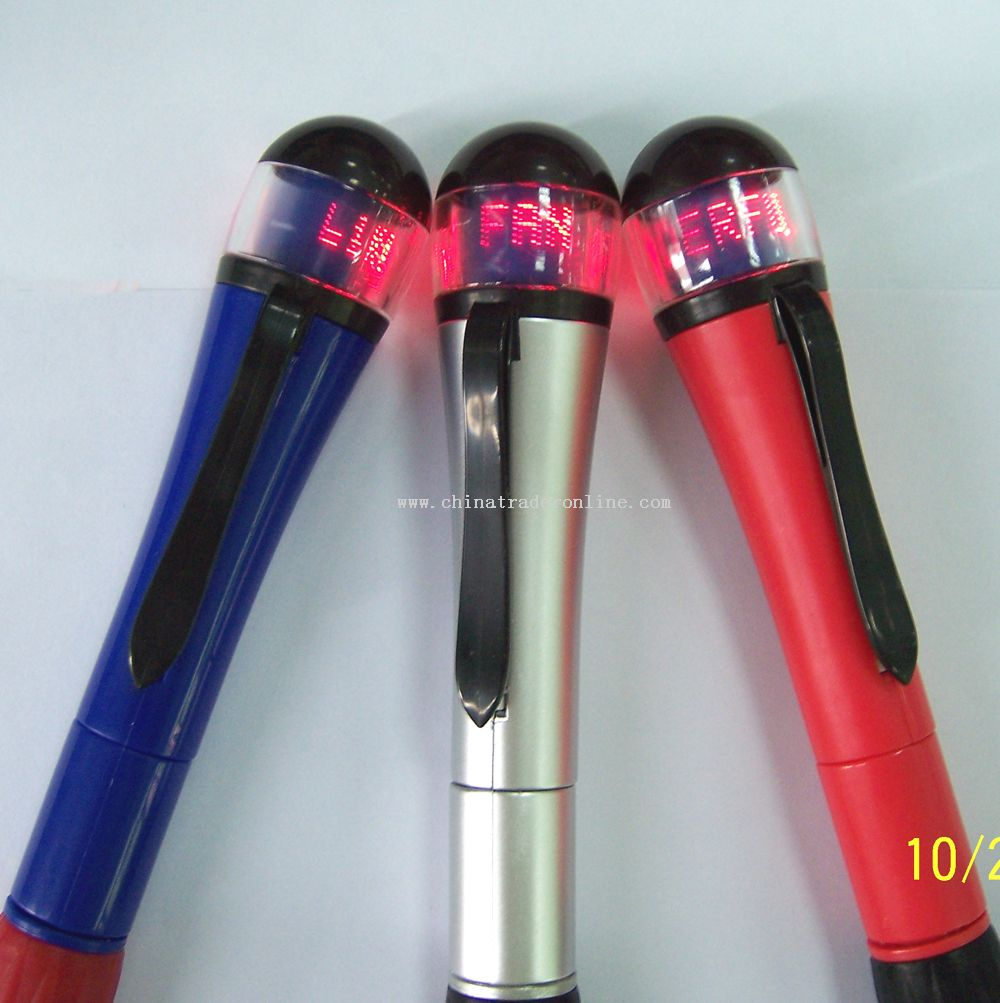 LED Logo Pen