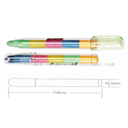 Rubber pens