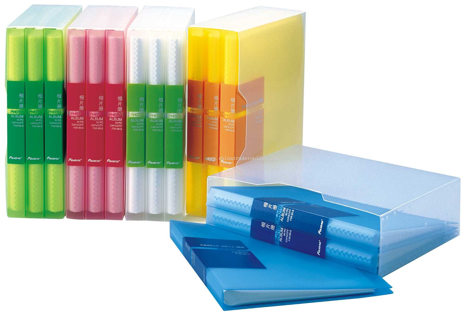 PP clear photo album holder 3 in 1
