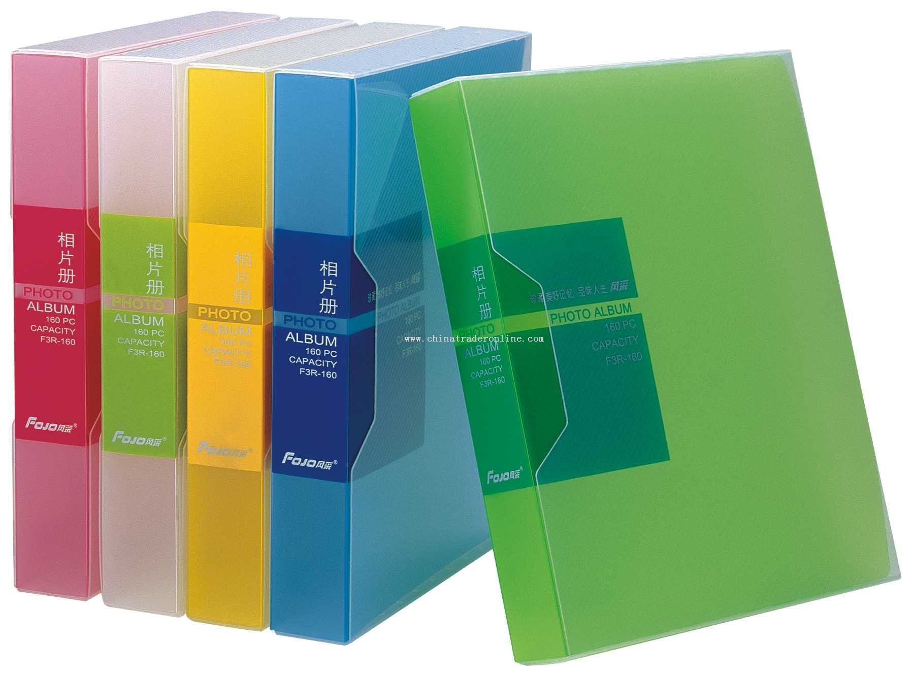 PP clear photo album holder 4R-160pcs