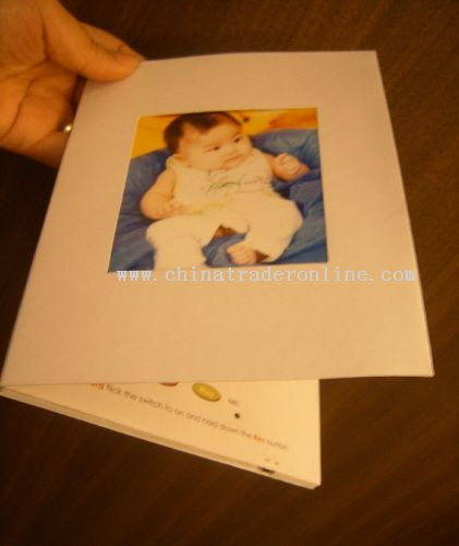 Talking Greeting Card with photo frame
