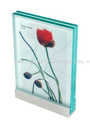 Aluminum Glass U-Boat Photo Frame