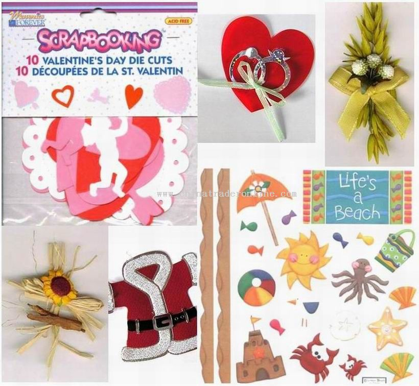 Embellishment for Greeting Cards, Bags, Books or Albums