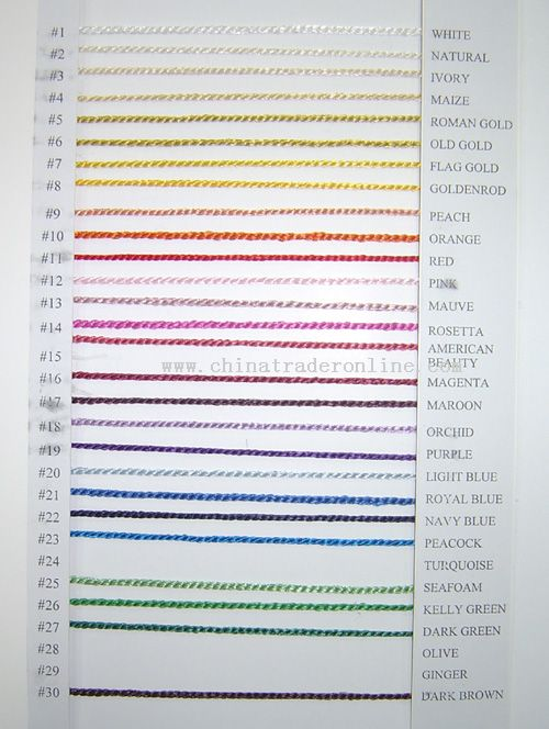 Bookmark Tassels