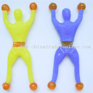 Sticky Spider Man, Available in Various Colors
