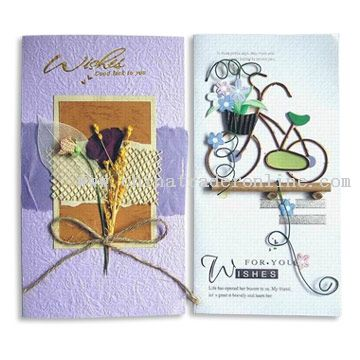 Whole Handmade Greeting Cards [Whole Handmade Greeting Cards]