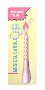 Musical Birthday Candle