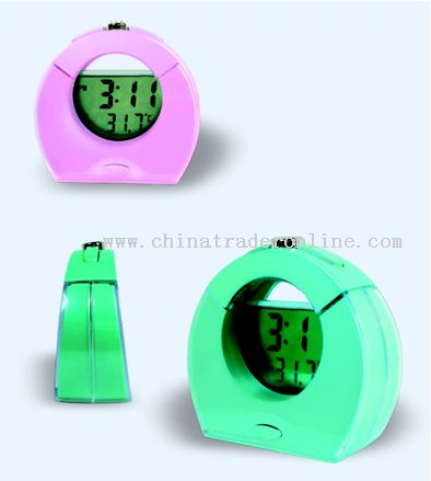 Clock Style Thermometer