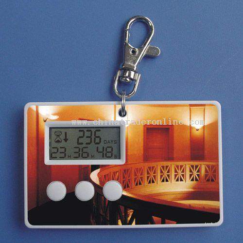 Card form timer