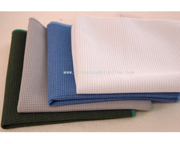 thin waffle towel