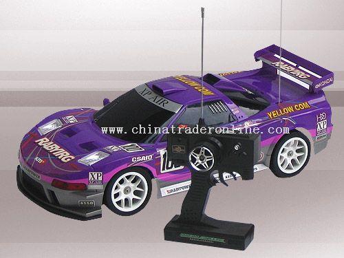 1:10 remote control racing car