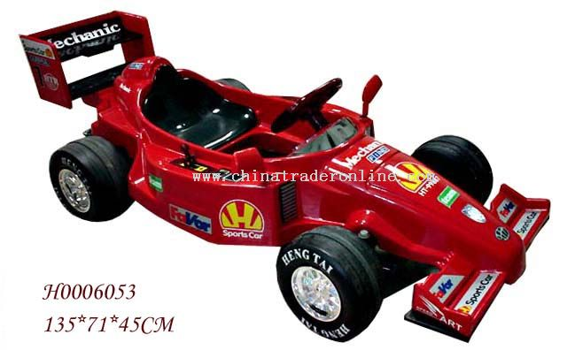 F1 Rechargeable battery car