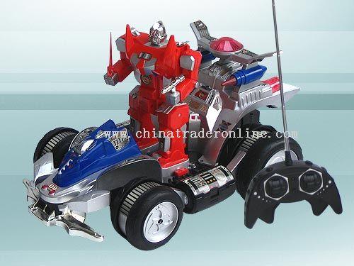 evil solider acrobatics cars
