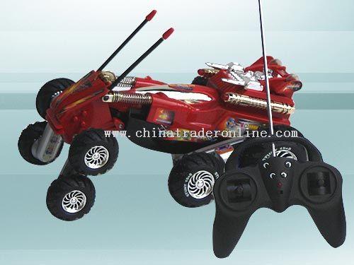 space Athena acrobatics cars