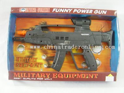 Battery operated TK gun
