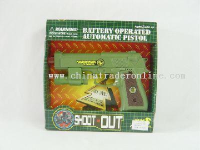 Electron Gun With Infrared