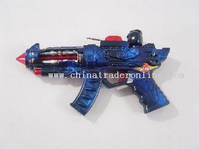 Gun With eight sound and running light