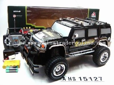 1:10 4 Channel R/C Hummer