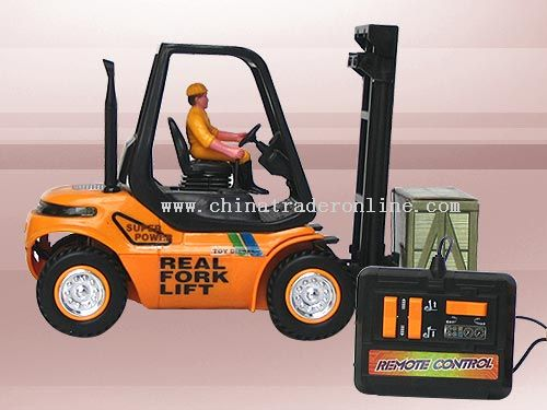 Wire control forklift