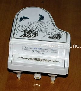 Piano with cover