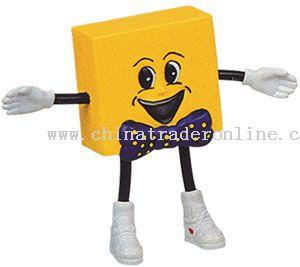 PU Smile Face Cube