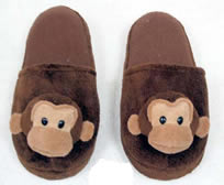 Monkey Slipper (Brown)