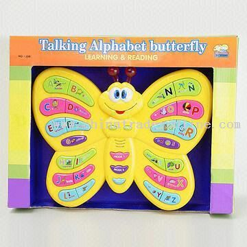 Talking Alphabet Butterfly with Animal Songs from China