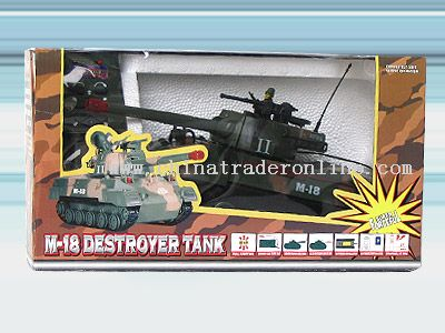 Remote control tank from China