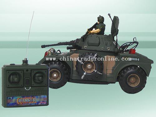 remote control combat tank