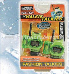 watch and walkie talkie