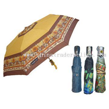 3-Fold Auto Open Umbrella
