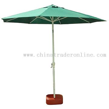 Aluminum Windproof Patio Umbrella With Title From China
