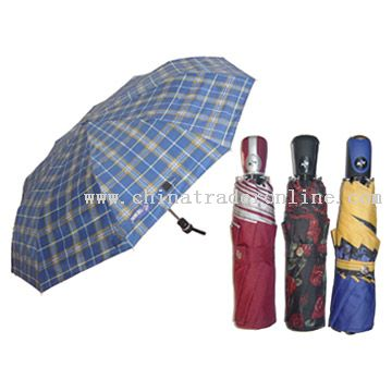 Auto Open & Close Umbrellas