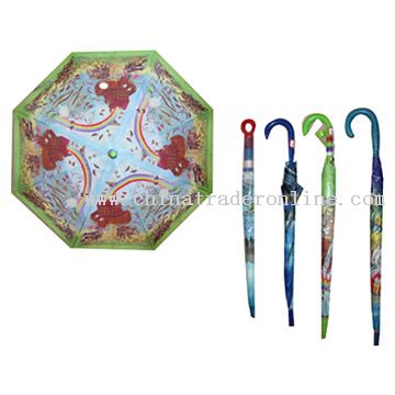 Offset Printed Childrens Umbrellas