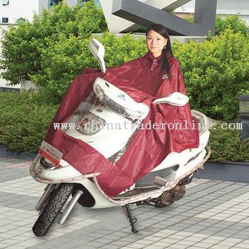 PVC Motorcycle Rain Coat from China