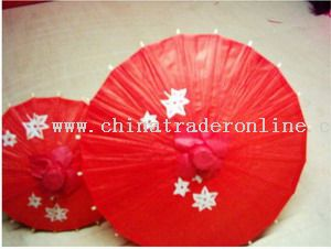 Paper umbrellas from China