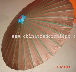 Paper umbrellas